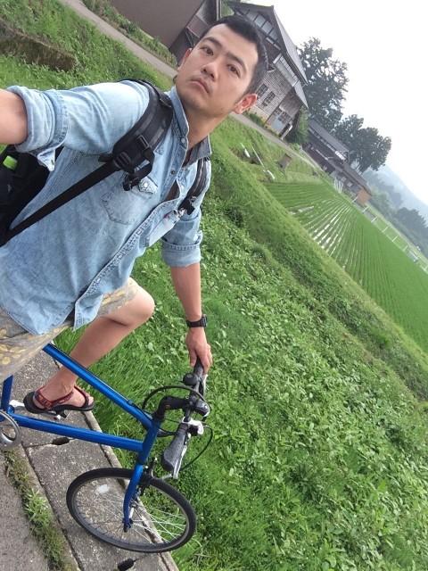 幸運の青い自転車